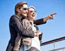 Mini-Kreuzfahrt für Zwei 3 Tage - von Amsterdam nach Newcastle - ohne Verpflegung