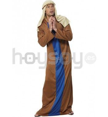 #Disfraz de San José económico para hombre. Este disfraz incluye: túnica y banda para la cabeza #Disfraces #Navidad #Teatro