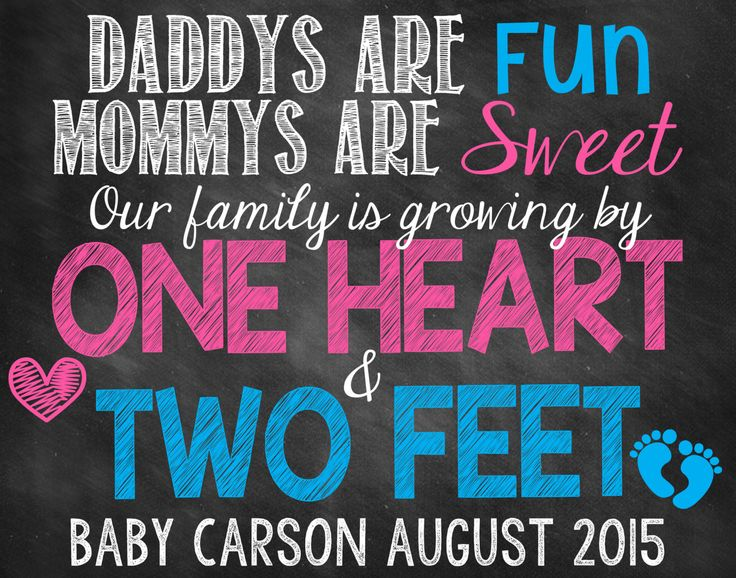 Pregnancy Announcement // Pregnancy Reveal by ChalkingItUpBoards