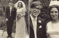 1965: Stephen Hawking marries Jane Wilde, via Retronaut