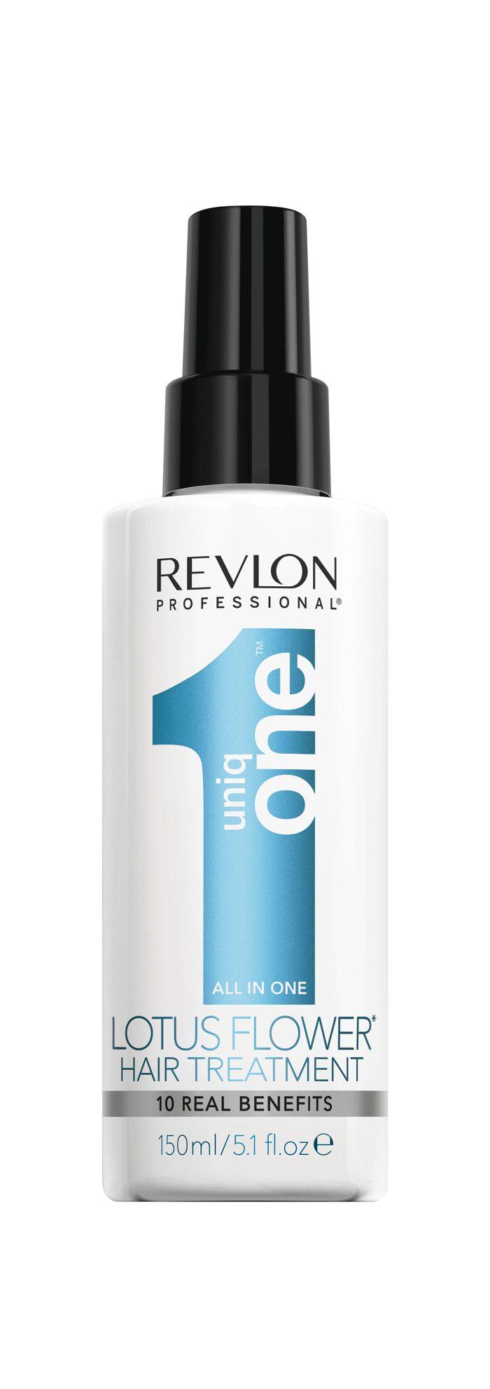 Traitement UniqONE Fleur de Lotus, de Revlon Professional - 6 soins capillaires tout-en-un pour des cheveux en santé!