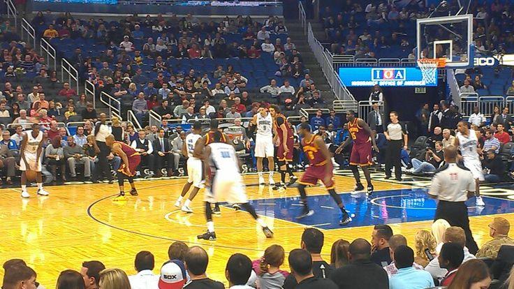 Orlando Magic vs Cleveland Cavaliers, Orlando, FL