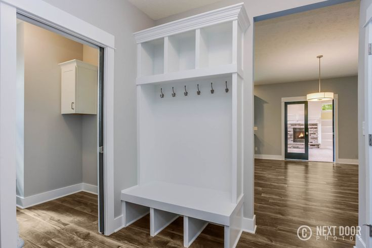 Built-in Lockers for your organizational needs- found in our Maxwell Home