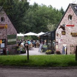 Bergwandeling en boscafé 't Hijgend Hert in Vijlen
