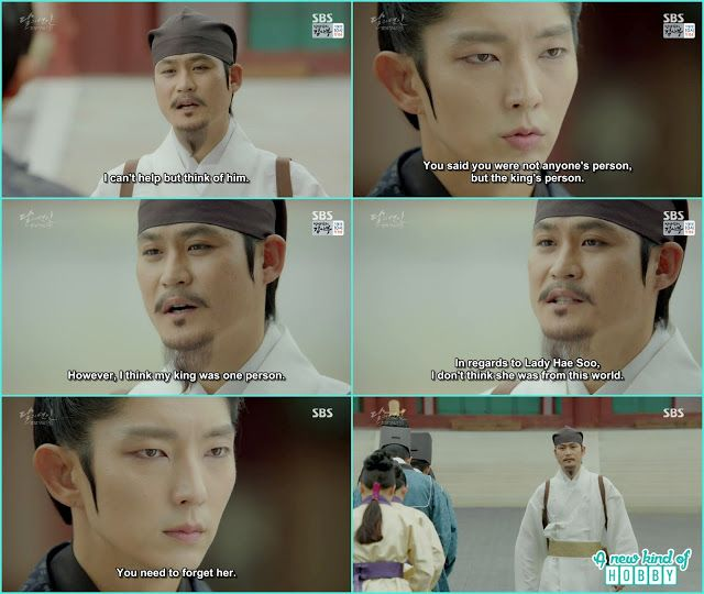 ji monk also leave king wang so side and leave the palace and also told Hae