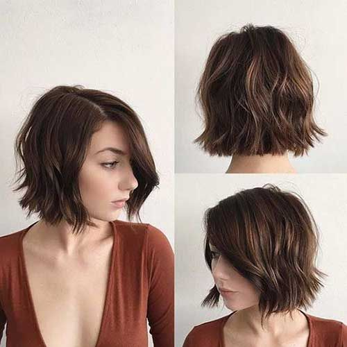Top 20 must-try Bob Haircuts Brunette //  #Brunette #Haircuts #musttry