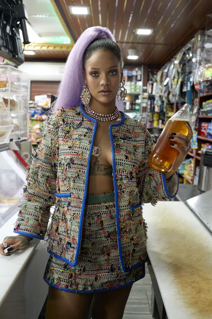 Rihanna Covers Our March Break the Rules Issue
