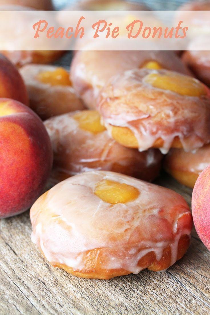 Ich habe diesen Sommer eine leidenschaftliche Liebesbeziehung mit Pfirsichen. Ich habe das gegessen …   – Desserts