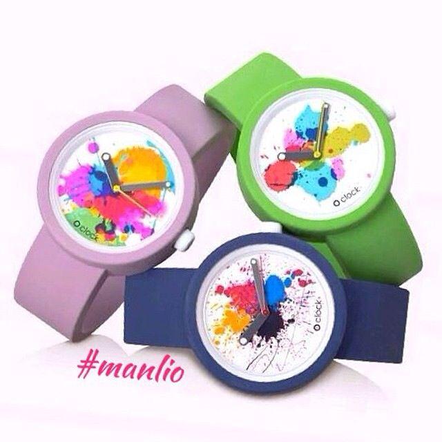 O clock Splash! Per Spedizioni  WhatsApp 329.0010906 #fullspot #orologi #watches #oclock #obag #spring2015