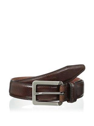 54% OFF Vintage American Belts Men's Harris Glazed Aniline Steerhide Belt (Brown)