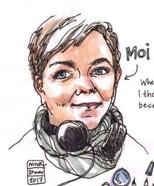 Fakulty Sketch Interview:  Nina Johansson