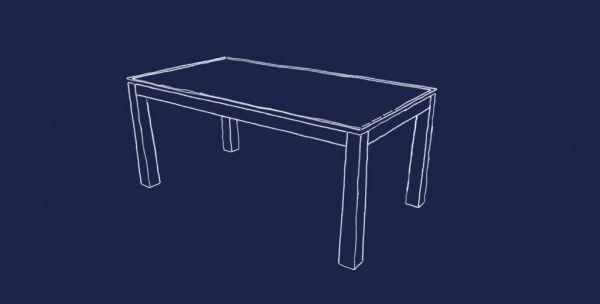 Fabrication d'une table de séjour à allonges par Zeloko - Dans les appartements avec cuisine ouverte sur le séjour, il est assez commun maintenant de n'avoir qu'une seule table qui serve à un usage quotidien autant qu'aux réceptions plus nombreuses.  C'est...