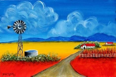 Image result for karoo paintings
