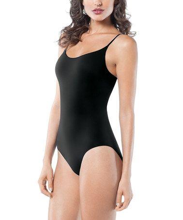 Look what I found on #zulily! Undie-Tectable® Adjustable Strap Bodysuit - Black by SPANX® by Sara Blakely #zulilyfinds