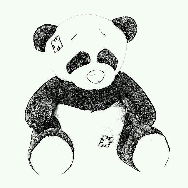 Blue nose panda