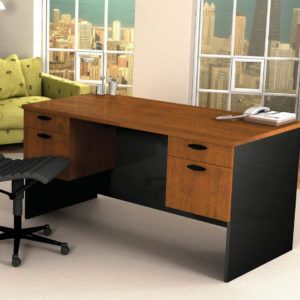 bow front desk office furniture