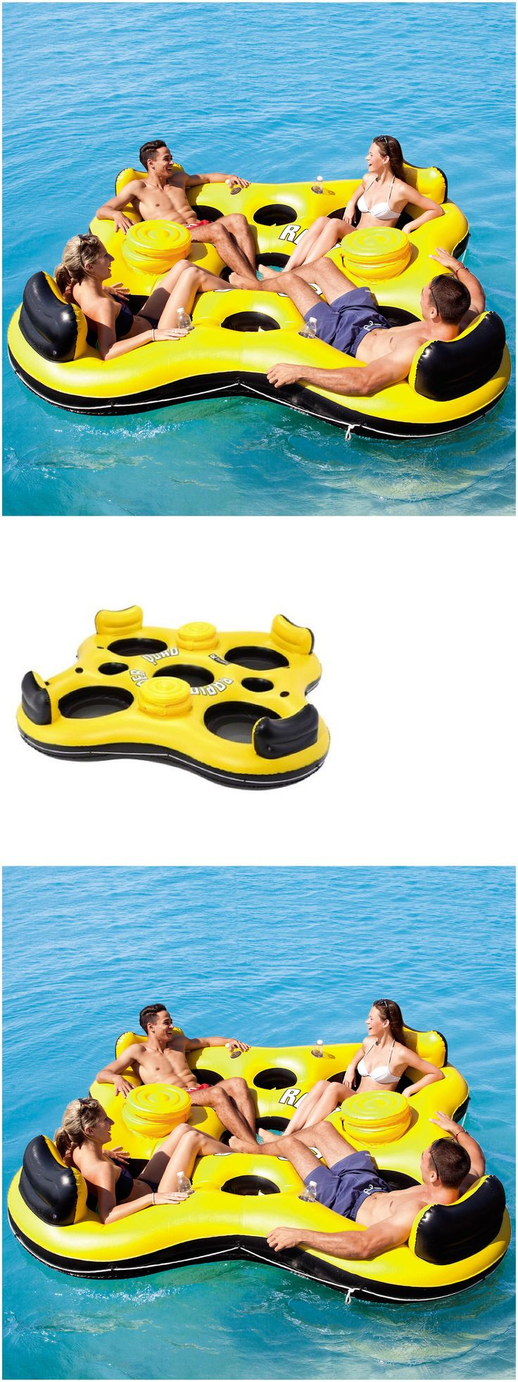Lake Toys For Boys : Best ideas about inflatable island on pinterest