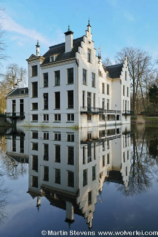 Staverden, Ermelo, Kasteel Staverden, Neo Renaissance castle in the smallest town of The Netherlands