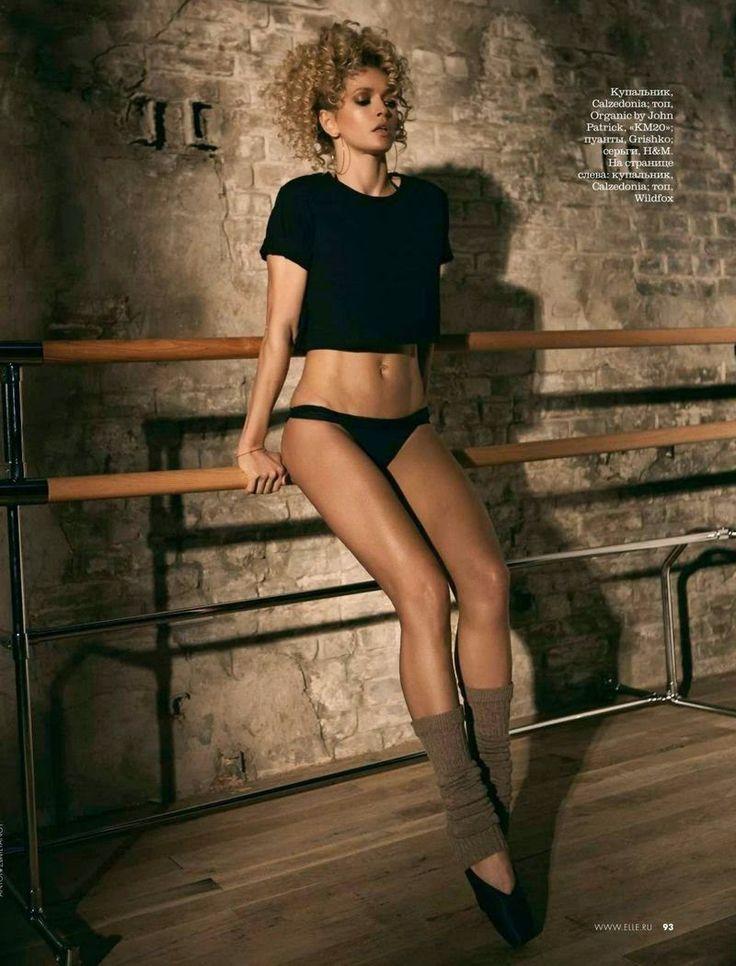 Duchess Dior: Vera Brezhneva by Anton Zemlyanoy for ELLE Russia June 2015