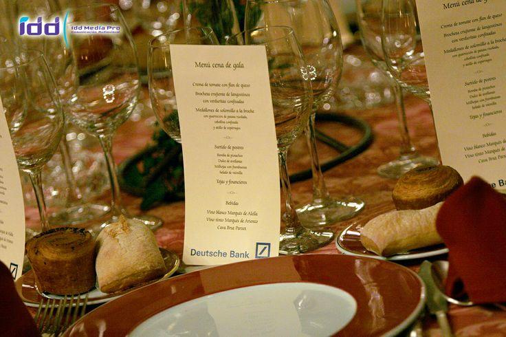 Cena de Gala Deutsche Bank
