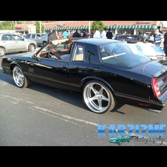 """Cars Motorcycles That I Love: G-Body Chevy Monte Carlo SS On 22"""" Billet Specialties 5"""