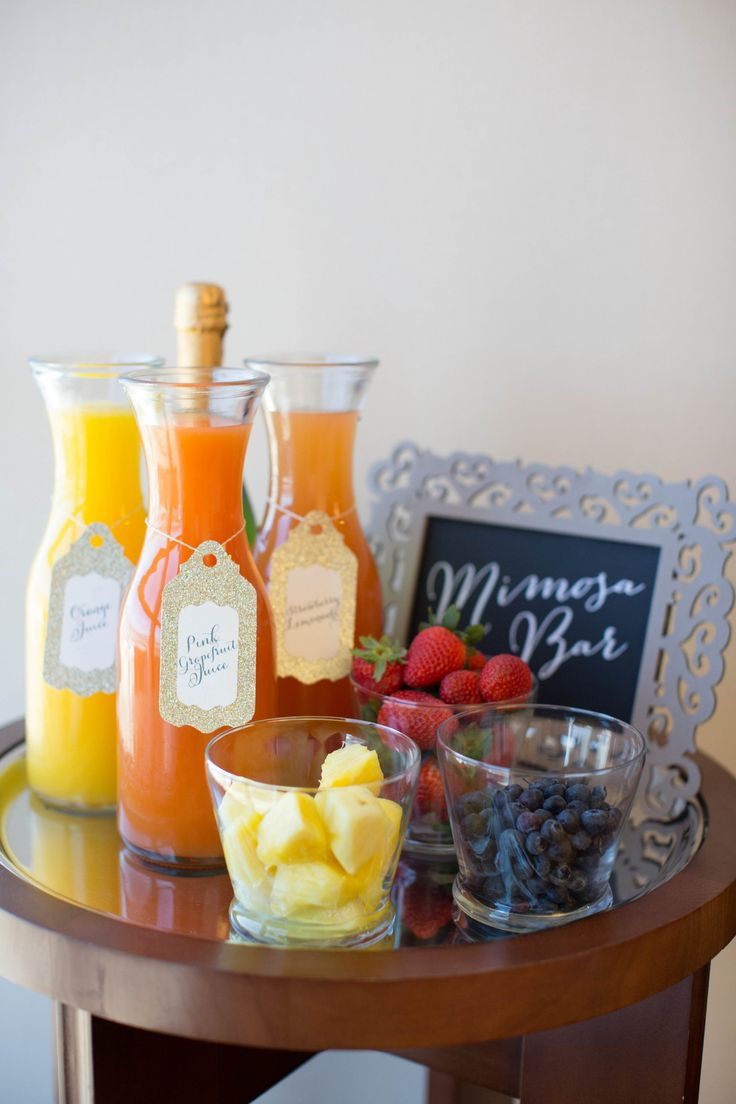ideas for bridal shower brunch food%0A Cute idea for a bridal shower baby shower brunch or a family postwedding  brunch