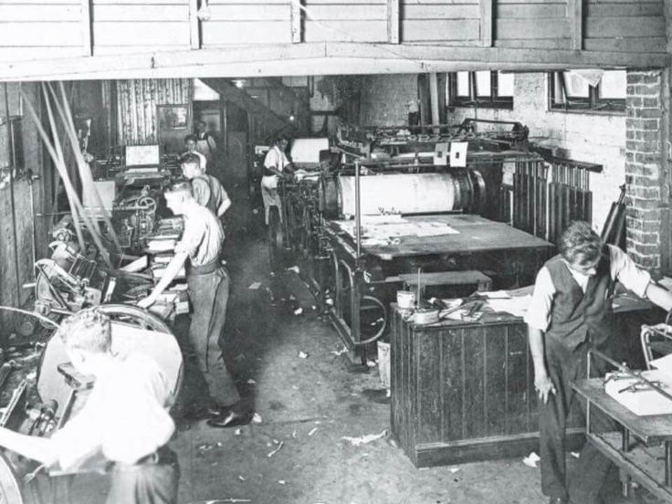 Inside The Workshop Of Manly Daily At 18 Sydney Rd Manlyin