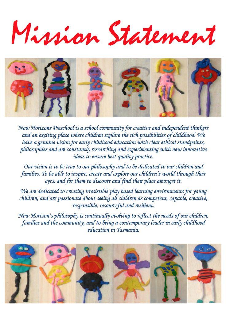 Our Mission Statement | New Horizons Preschool Blog