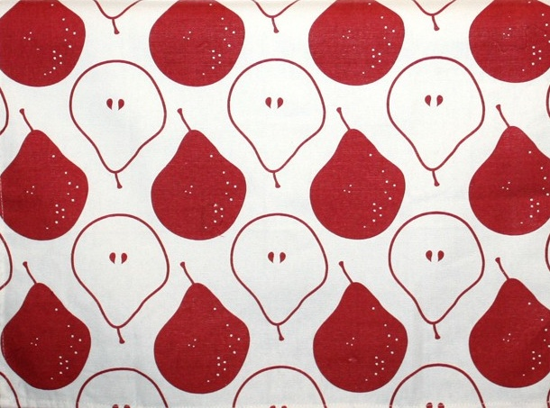 ...Organic Pear Tea Towel by Foxy & Winston