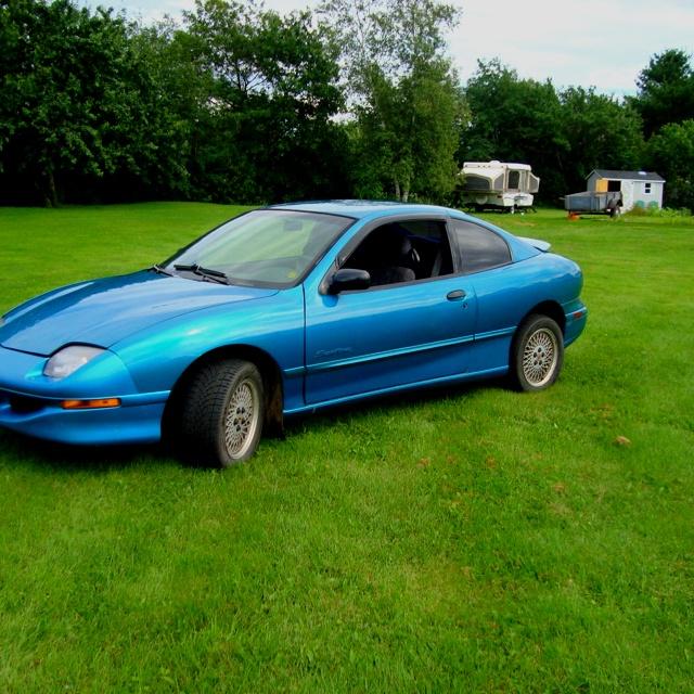 Teal Pontiac Sunfire My First Car A Little Bit Of Me