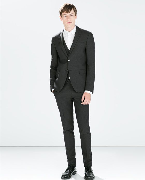 ZARA - SALE - STRUCTURED SUIT