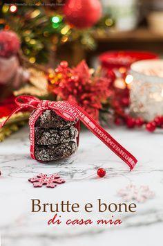 Tipici dolcetti natalizi della tradizione, golosissimi al cacao e nocciole, senza farina   Christmas cookies with hazelnuts and cocoa   La casa del coniglio bianco