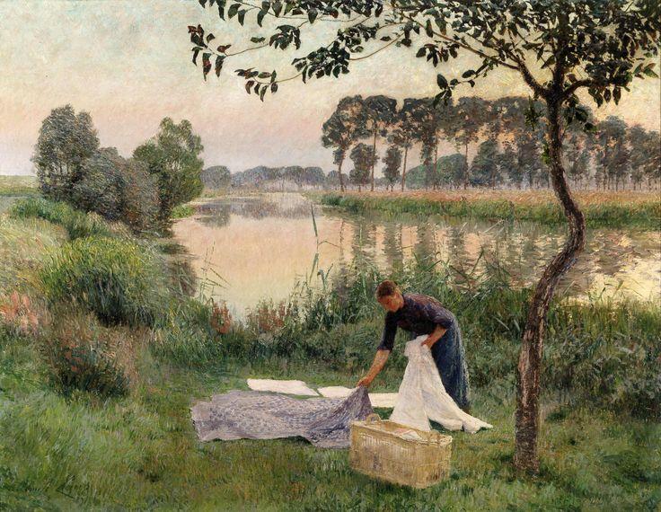 Emile Claus was a Belgian painter.