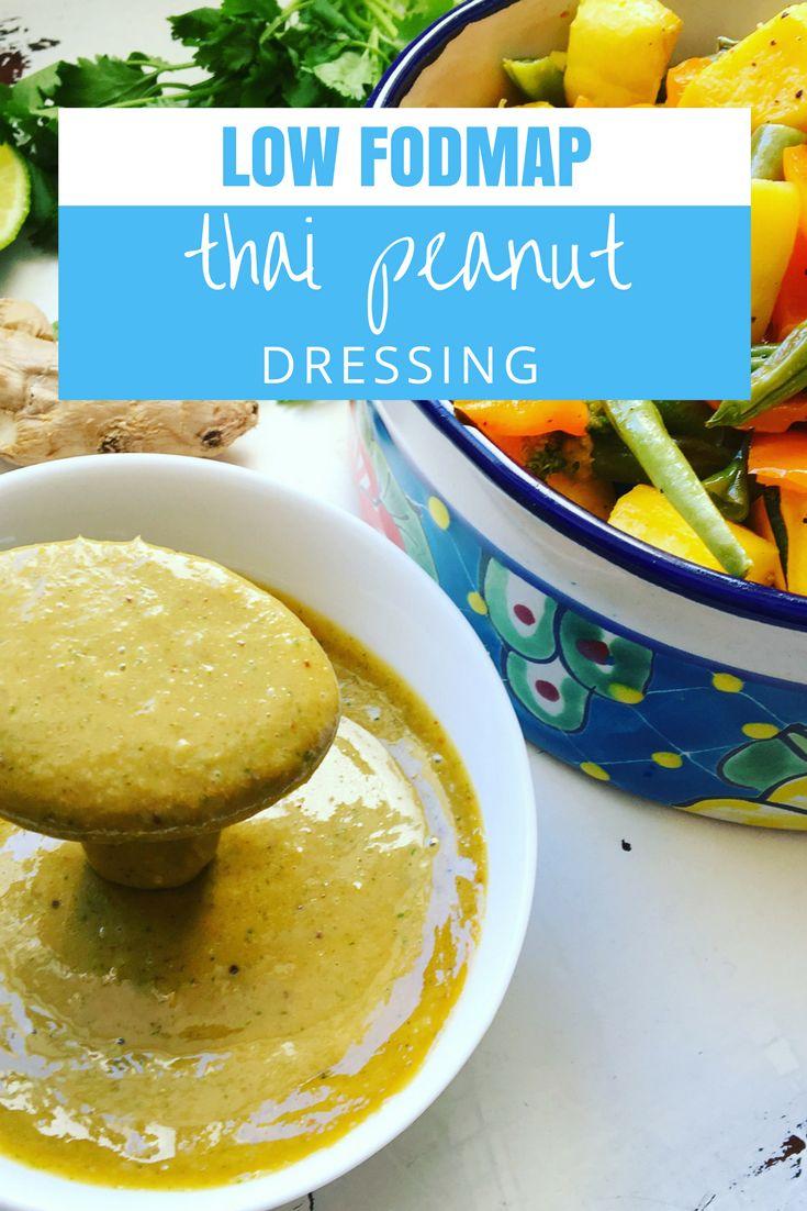 Low FODMAP Thai Peanut Dressing