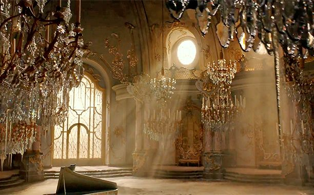 Beauty and the Beast: Inside of the castle