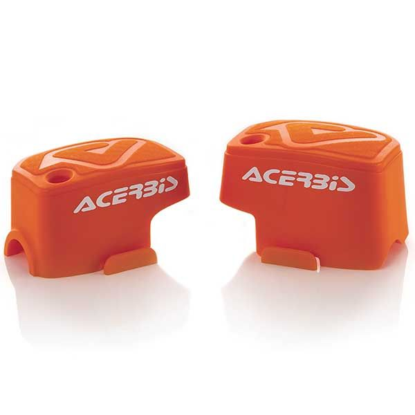 Σετ Καλύμματα Δοχείων Φρένου - Συμπλέκτη ACERBIS Για Brembo Πορτοκαλί