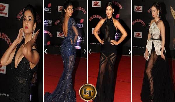 Inilah 5 Artis Bollywood Berpakaian Transfaran di Stardust Awards 2016