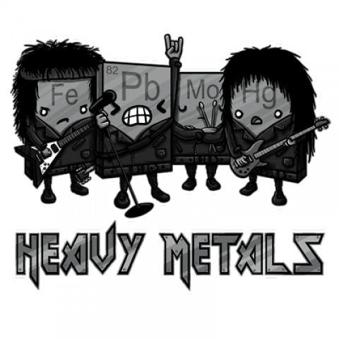 Heavy Metals Men's T-Shirt
