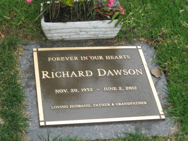 Richard Dawson: Died of Esophageal Cancer at 79. He is buried in the Westwood Memorial Park, Los Angeles, CA