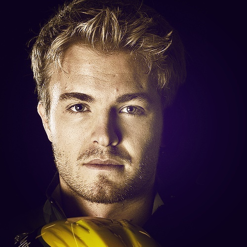 Nico Rosberg, German-Finnish F1 driver and son of Keke Rosberg