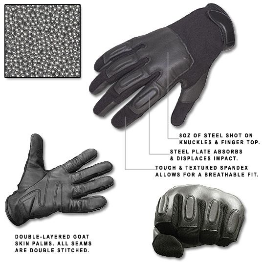 Defense SAP Gloves Multiply Your Pimp Slap's Power