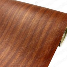 3M DINOC Mahogany Wood Grain Vinyl Film Adhesive Backed Sheet Roll 4ft x 1ft