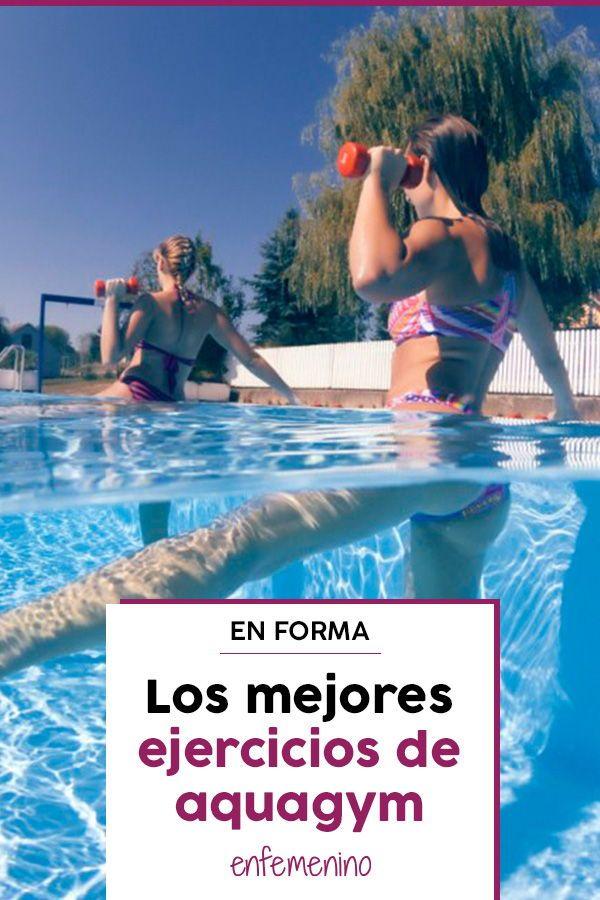 ejercicios en piscina para bajar de peso