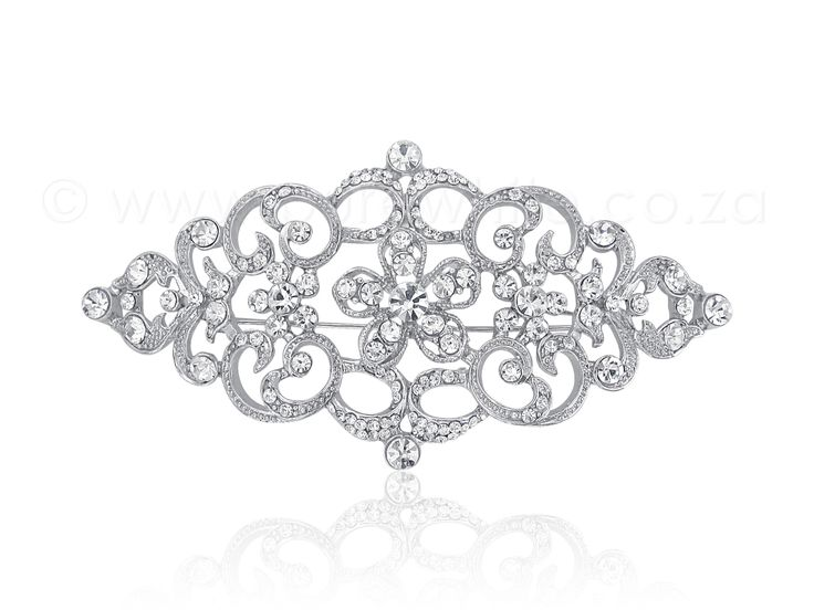 PURE WHITE - Gorgeous Rhinestone Brooch 1-006, $38.00 (http://www.purewhite.co.za/gorgeous-rhinestone-brooch-1-006/)