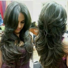 Love this cut, but I don't think my hair is thick enough for that many layers
