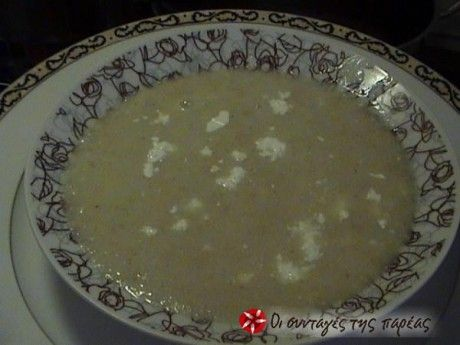 Σούπα τραχανά απλή