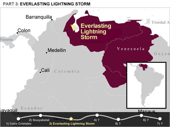 Location In Lake Maracaibo Map