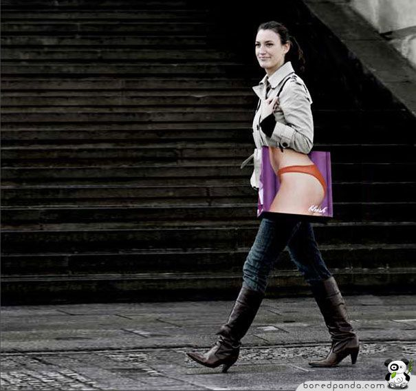Creative Bag Advertisements