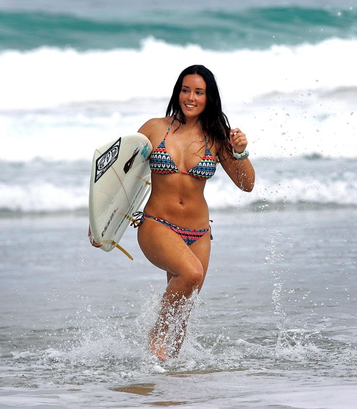 how to become a surf model