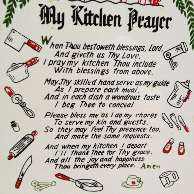 Kitchen Prayer Quotes: 10 Best Images About Kitchen Prayers On Pinterest